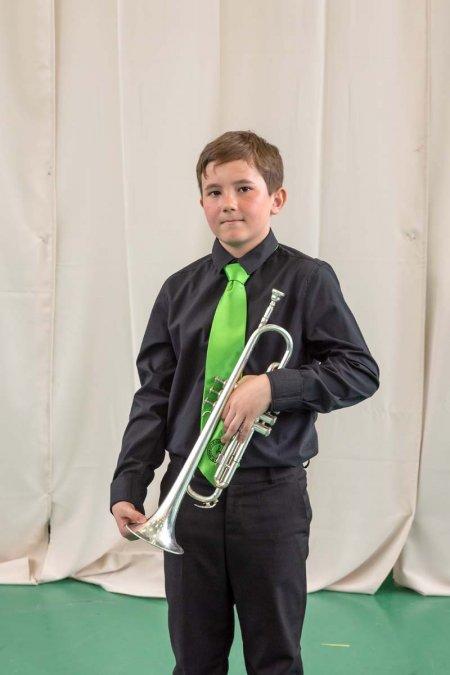 Drevenka Máté - trombita
