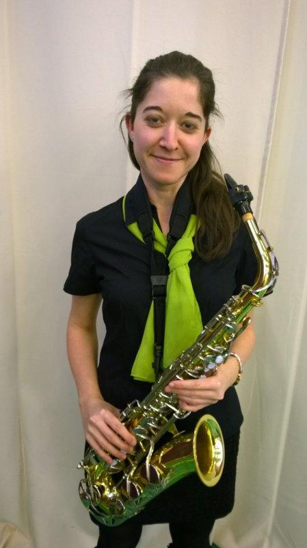 Városi Bernadett - altszaxofon, klarinét