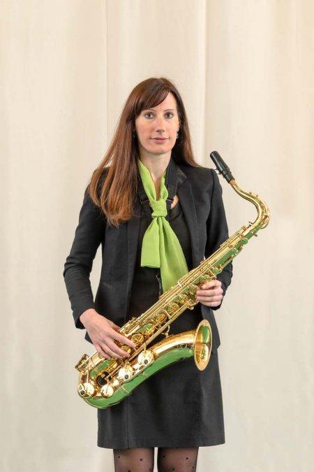 Wéber Anikó - tenorszaxofon, klarinét